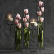 Arrangement de tulipes 3d model