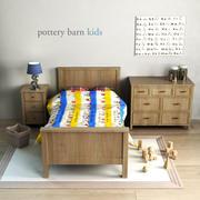 Çömlekçilik ahırı, Charlie Yatak 3d model