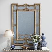 Klassischer Spiegel Provasi 1107 3d model