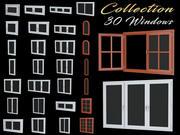 Colección de ventanas modelo 3d