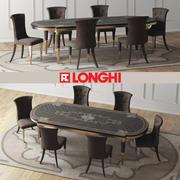 LAYTON木桌和MARION椅子 3d model