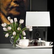 Decorative vase set 4 3d model