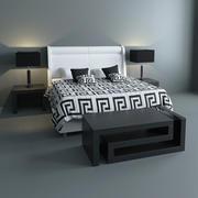 Jogo de cama Versace 3d model