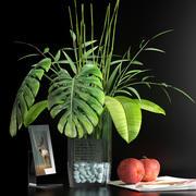 装饰花瓶套装7 3d model