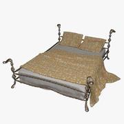 錬鉄製のベッド_1 3d model