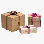 Hediye kutuları 3d model