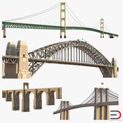Colección de modelos 3D de puentes 3 modelo 3d