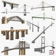 Bridges 3D Models Collection 4 3d model
