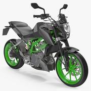Generic Sport Motorcycle 3D Model 3d model