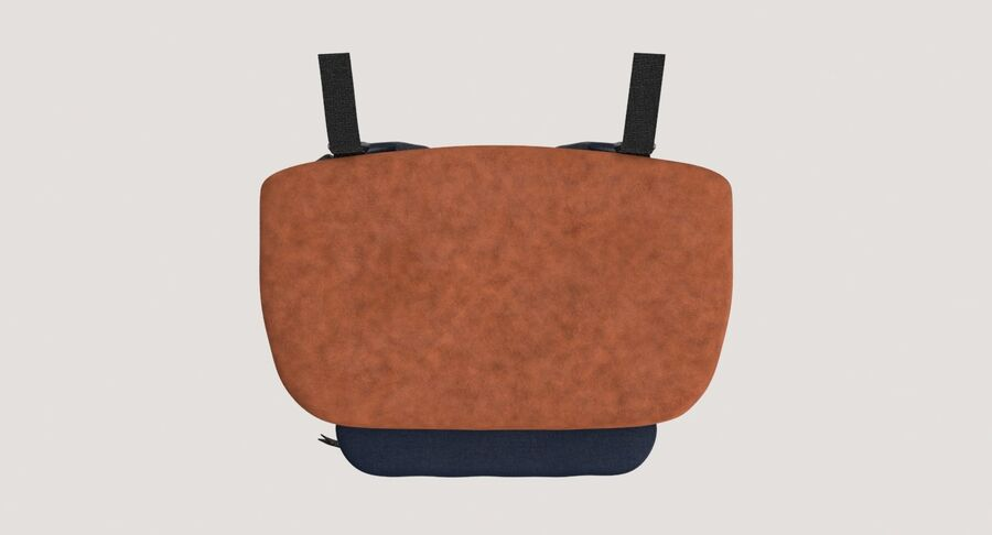 Backpack Dark Blue royalty-free 3d model - Preview no. 15
