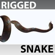 Serpent gréé 3d model