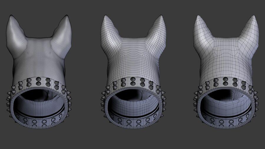 köpek kafası koleksiyonu royalty-free 3d model - Preview no. 17