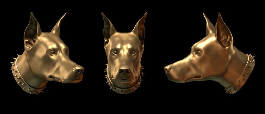 köpek kafası koleksiyonu royalty-free 3d model - Preview no. 2