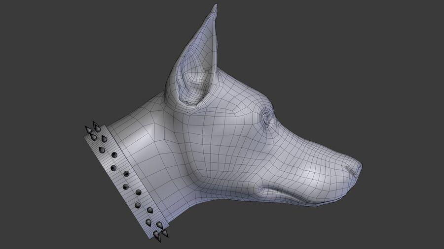 köpek kafası koleksiyonu royalty-free 3d model - Preview no. 6