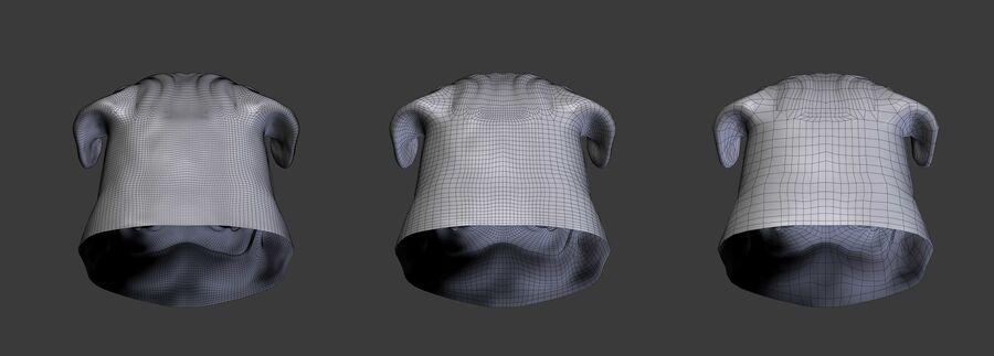 köpek kafası koleksiyonu royalty-free 3d model - Preview no. 25