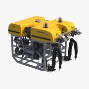 ROV fjärrstyrt undervattensfordon 1 3d model