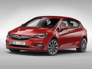 Opel Astra (2016) 3d model