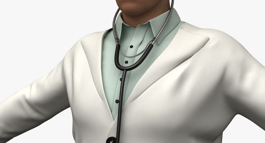 Doctor Character royalty-free 3d model - Preview no. 12