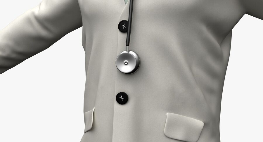 Doctor Character royalty-free 3d model - Preview no. 13