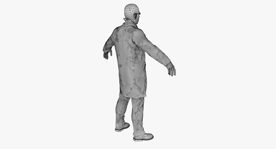 Doctor Character royalty-free 3d model - Preview no. 19