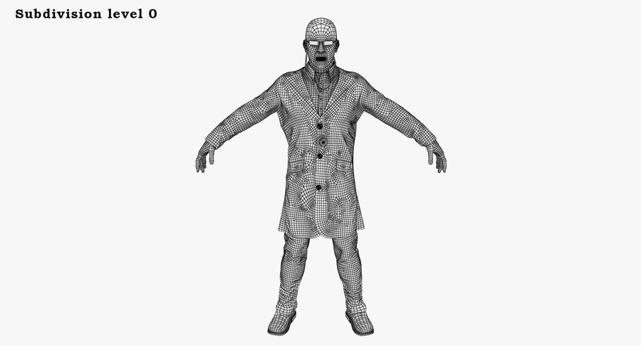 Doctor Character royalty-free 3d model - Preview no. 27