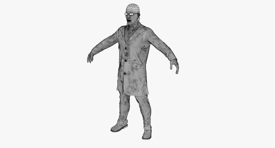 Doctor Character royalty-free 3d model - Preview no. 16