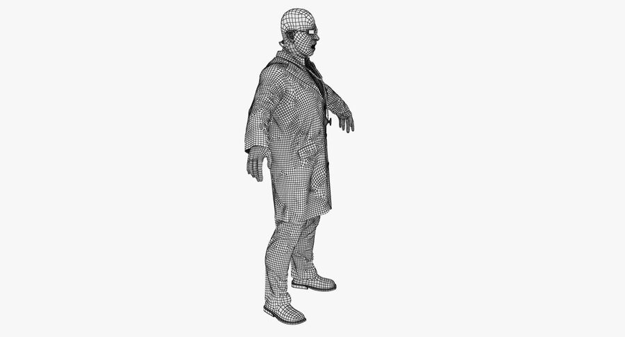 Doctor Character royalty-free 3d model - Preview no. 18