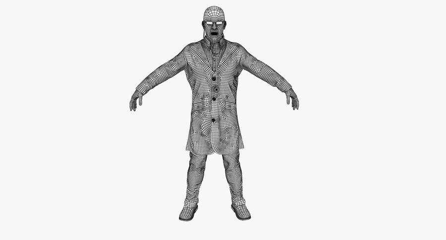 Doctor Character royalty-free 3d model - Preview no. 17