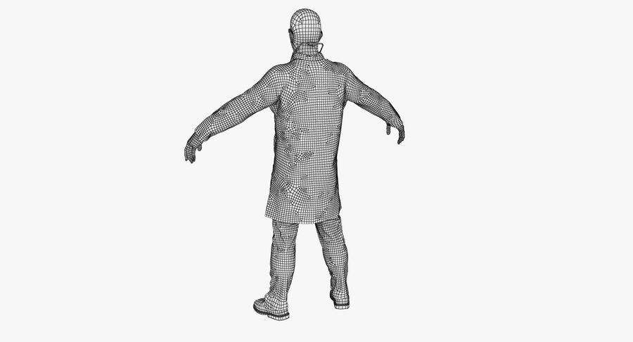 Doctor Character royalty-free 3d model - Preview no. 20