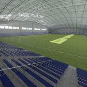 Football (Soccer) Indoor Arena 3d model