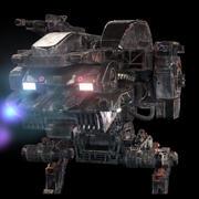 robot dm modelo 3d