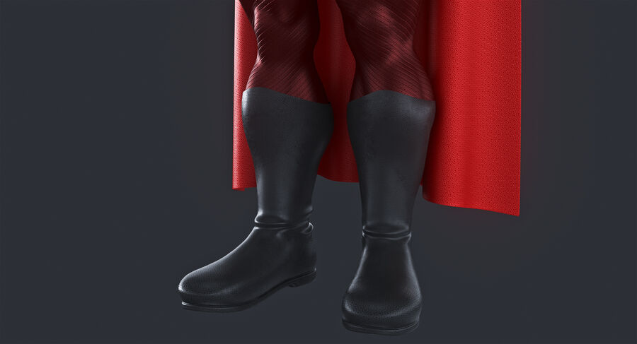 Super Hero royalty-free 3d model - Preview no. 9
