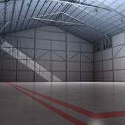 Aircraft Hangar Interior 3d model