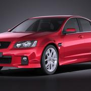Holden Commodore 2013 3d model