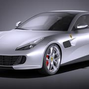 Ferrari GTC4 Lusso T 2017 3d model