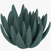 Chalksticks Bleu 3d model
