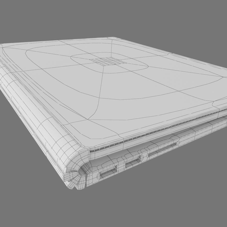 Oberflächenbuch royalty-free 3d model - Preview no. 6