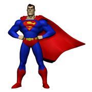 Superman 3d model