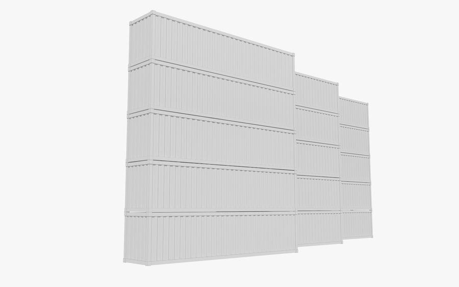 화물 컨테이너 royalty-free 3d model - Preview no. 5