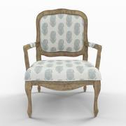 Stratton Arm Chair 3d model