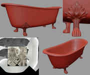 Photorealistic Classic Bathtub Corona FStorm 3d model