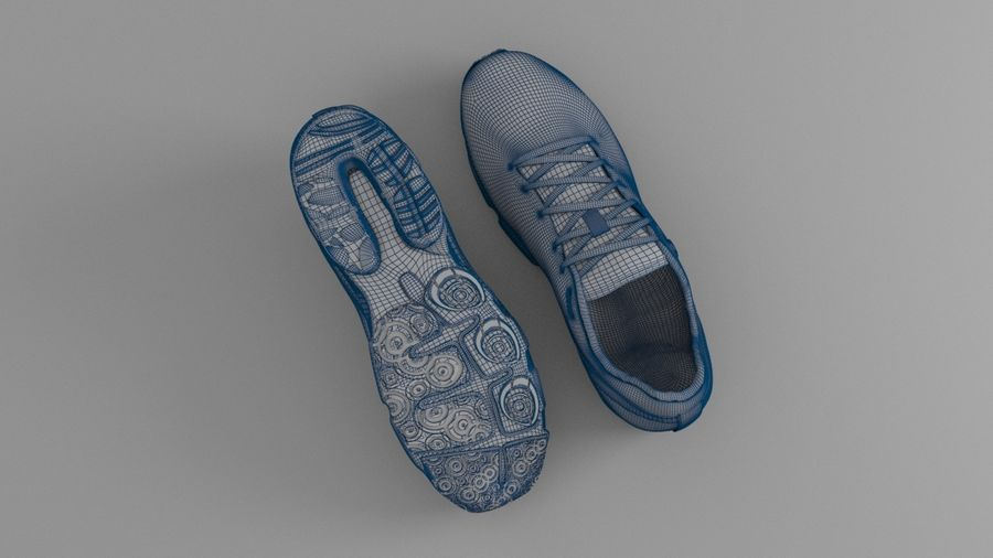 Sport Shoes royalty-free 3d model - Preview no. 16