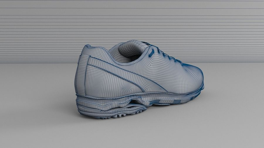 Sport Shoes royalty-free 3d model - Preview no. 8
