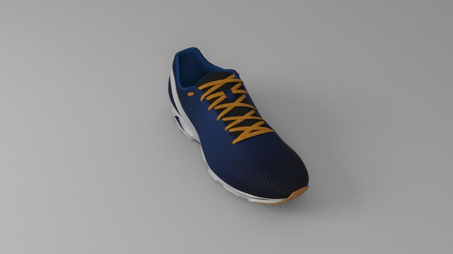 Sport Shoes royalty-free 3d model - Preview no. 9