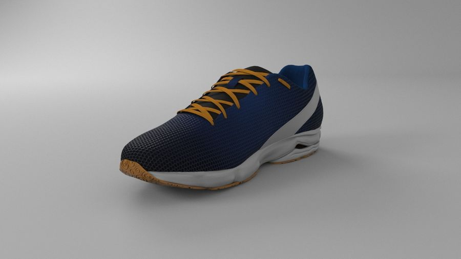 Sport Shoes royalty-free 3d model - Preview no. 11