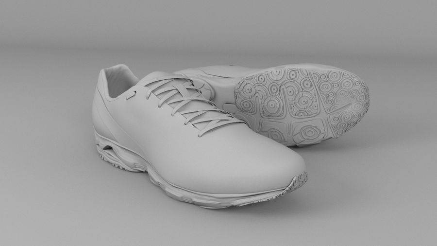 Sport Shoes royalty-free 3d model - Preview no. 3
