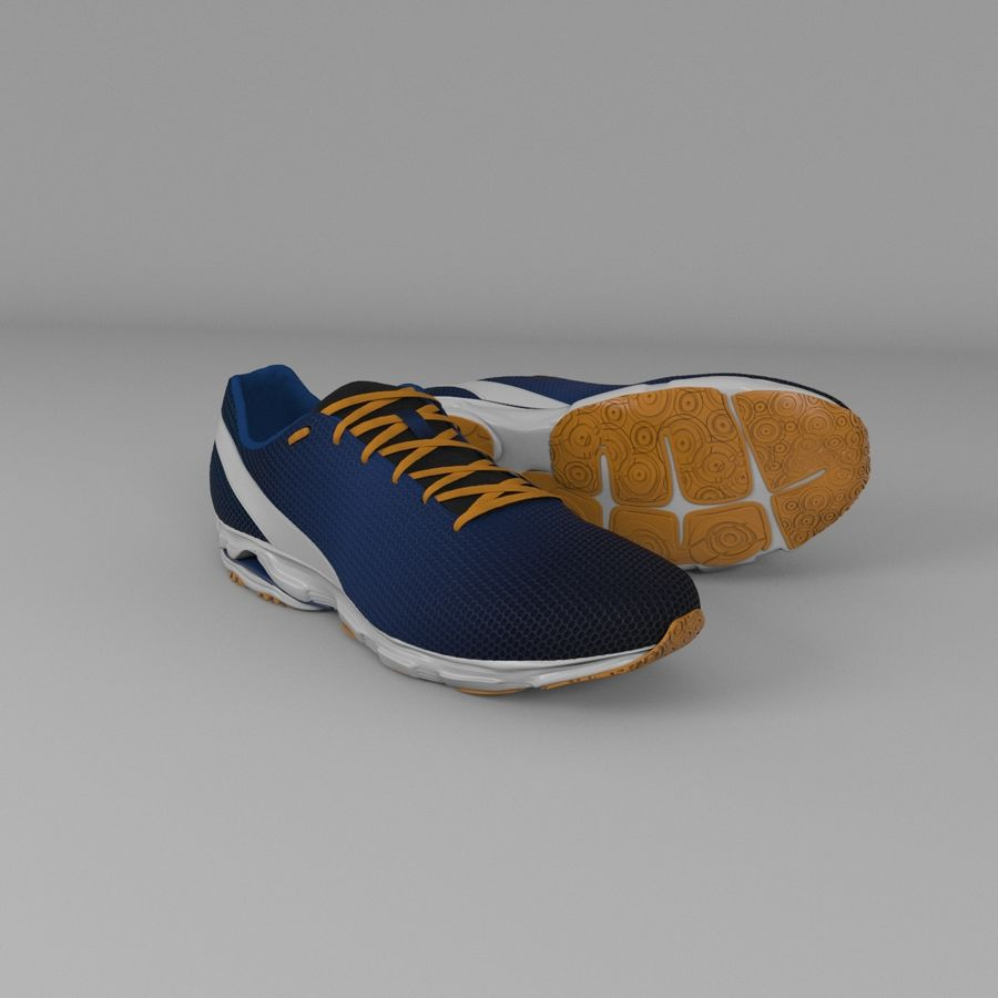 Sport Shoes royalty-free 3d model - Preview no. 1
