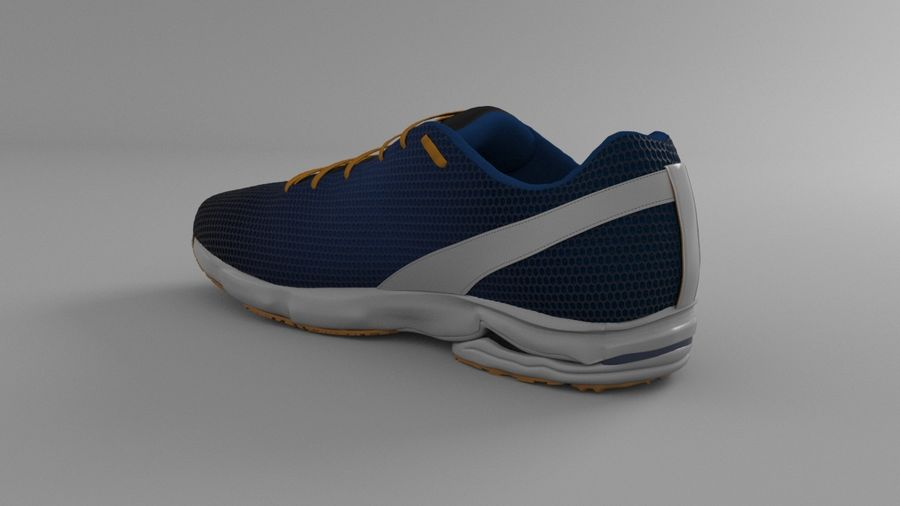 Sport Shoes royalty-free 3d model - Preview no. 13