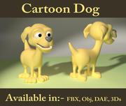 卡通狗 3d model