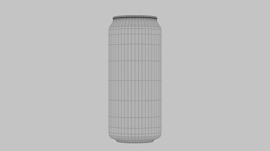Энергетический напиток может royalty-free 3d model - Preview no. 9